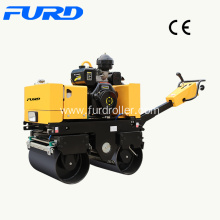 Good Quality for Walk-Behind Double Drum Roller,Manual Roller Compactor,Walk Behind Roller Manufacturer in China 800kg Hydraulic Hand Roller Compactor export to Sweden Factories